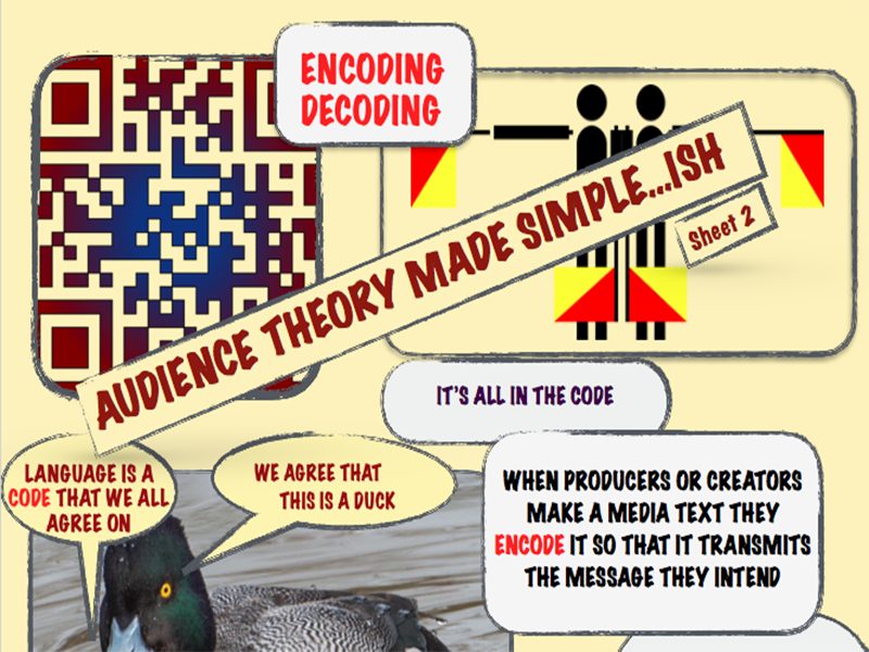 Audience Made Simple..ish Encoding and Decoding