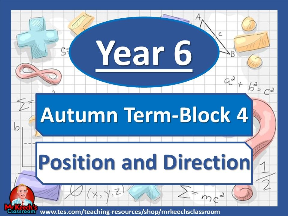 Year 6 - Position and Direction - Autumn Block 4 - White Rose Maths