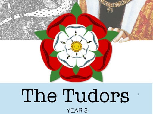 The Tudors - Booklet with tasks