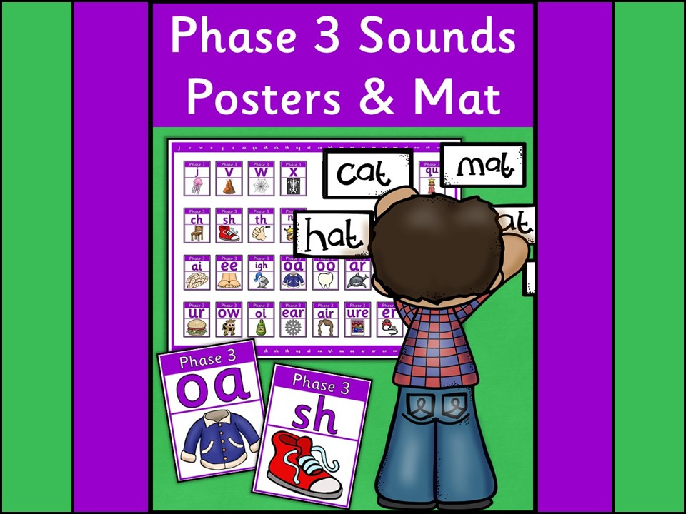 Phase 3 Sounds Posters and Mat