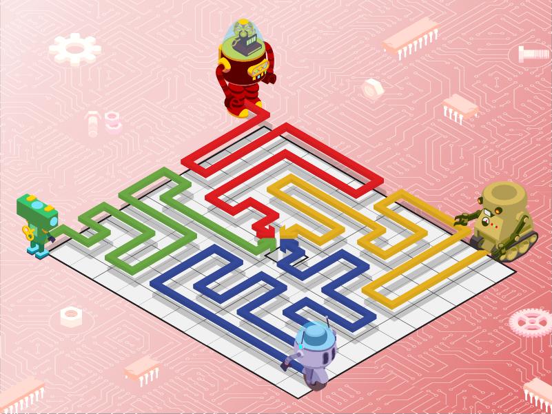 Maze Escape (computing activity)