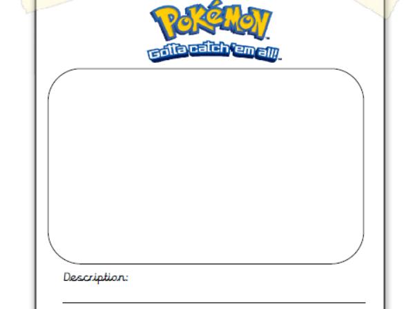 Pokemon missing poster