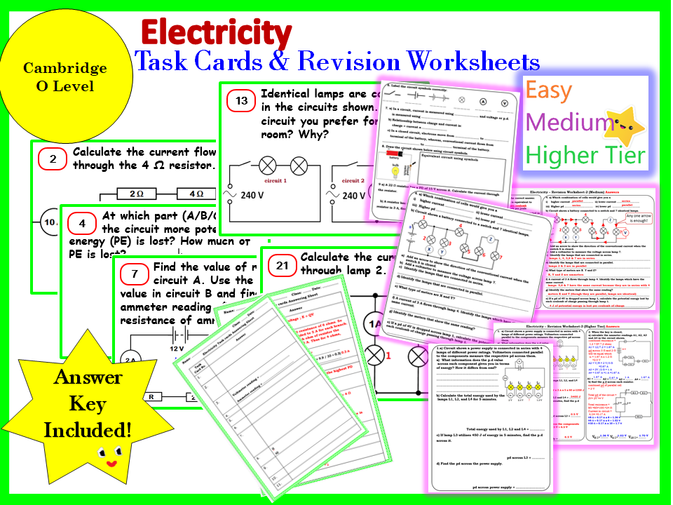 Electricity Revision