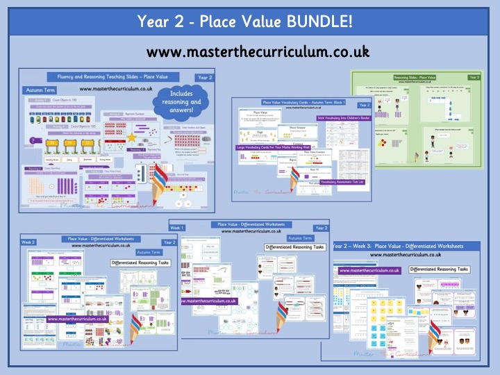 Year 2 Place Value Bundle