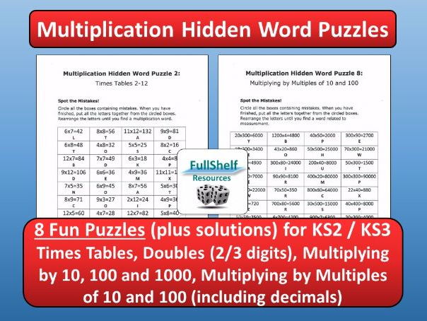 Multiplication KS2