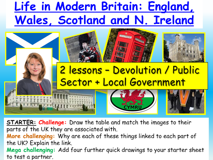 Local / devolved government