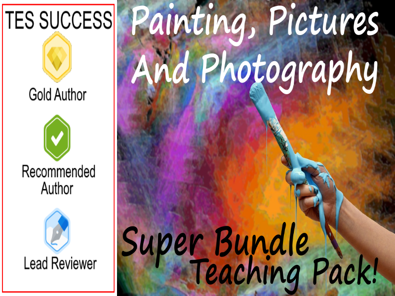 Painting, Pictures and Photography Bundle