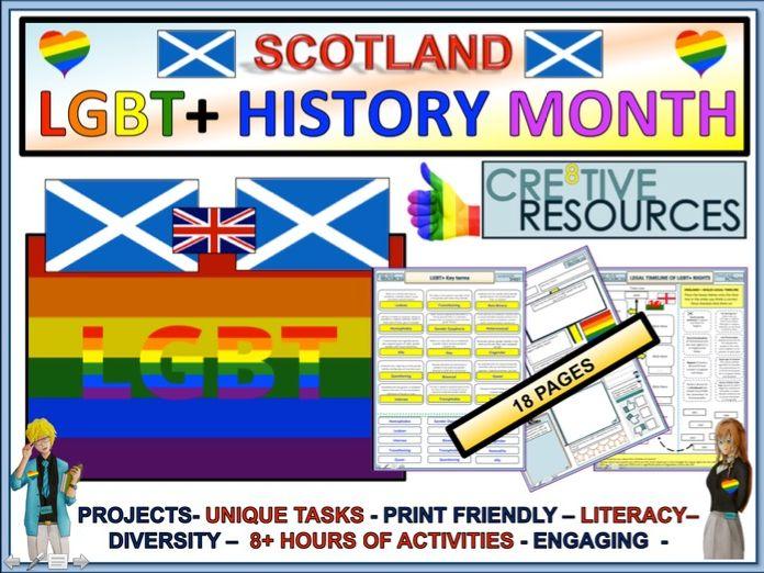LGBT+ Month 2019 : Scotland