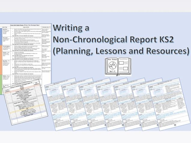 Non-Chronological Reports - KS2 English Planning