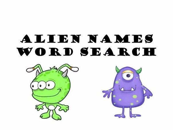 Nonsense Word Wordsearch