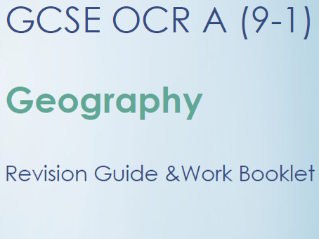 OCR A 9-1 Geography Revision Guide - Landscapes of the UK