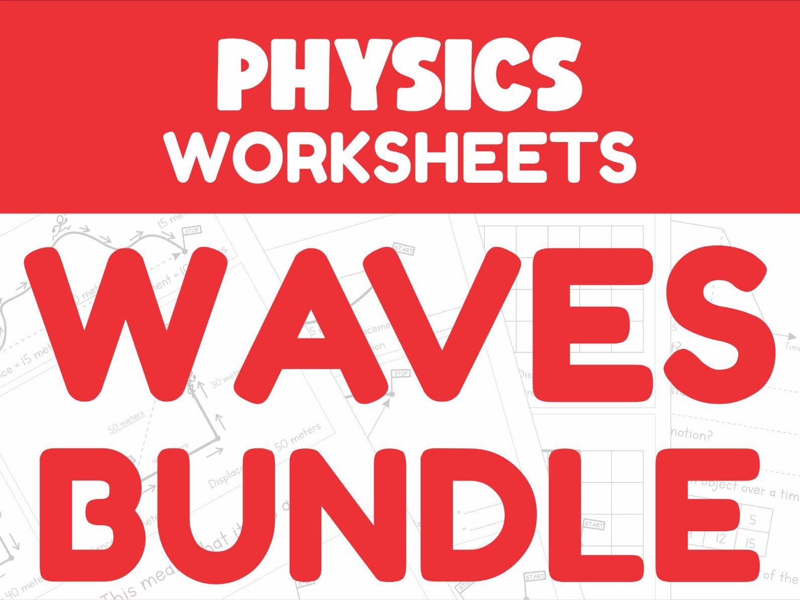 Waves Revision Worksheets Bundle