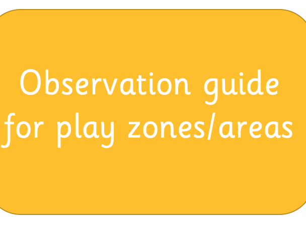 Observation guide for people observing play