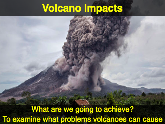 IGCSE Edexcel Geography - Hazardous Environments - Volcano Impacts