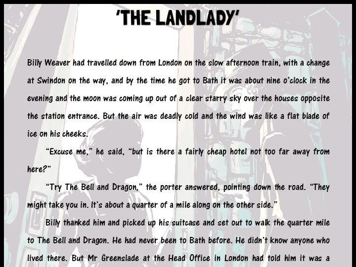 'The Landlady'