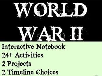 The Second World War Teacher Resource Bundle