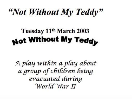 World War 2 play script