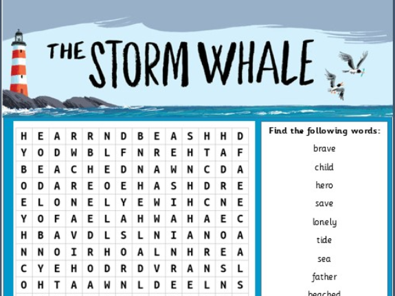 Under the Sea Wordsearch Activity Pack