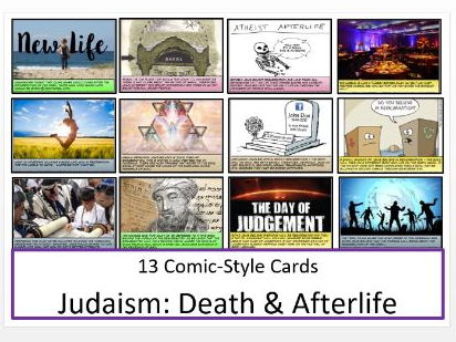 Judaism: Death and the Afterlife Information Comics