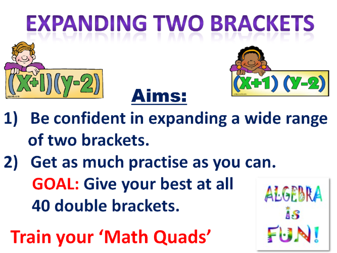 Expanding 40 double brackets (presentation)