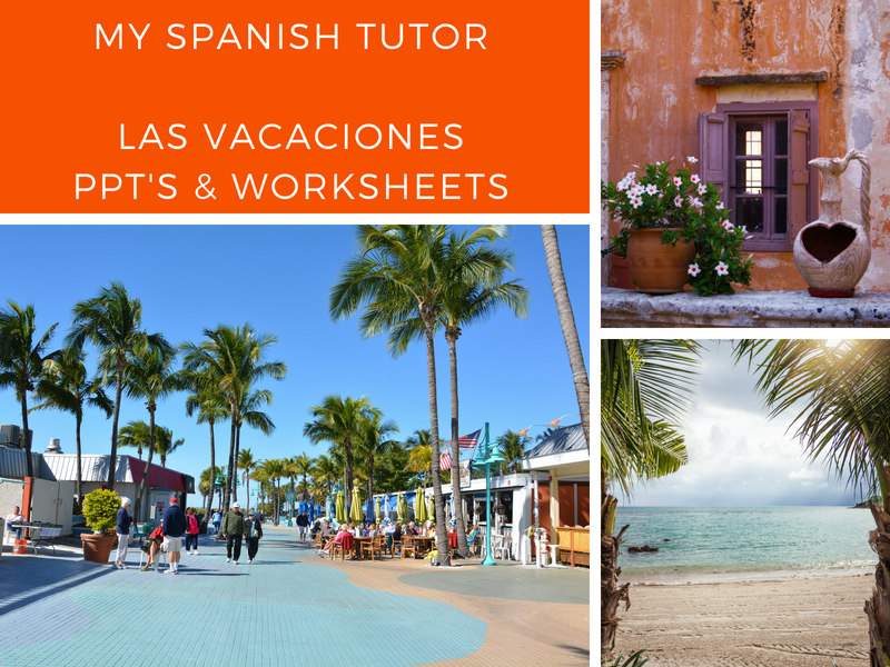 GCSE SPANISH - LAS VACACIONES UNIT OF WORK