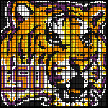 Colouring by Function Notation with Linear Inverses, LSU Tigers (36 Worksheet Mosaic)
