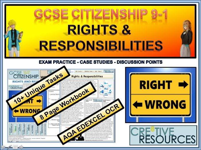 Rights and Responsibilities Work Booklet
