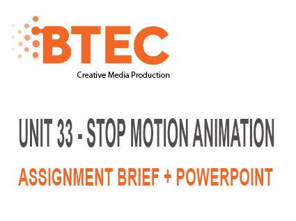 BTEC Creative Media Production Unit 33 Bundle