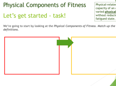 BTEC Sport L2 Physical Components of Fitness