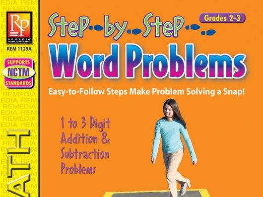 Step-by-Step Word Problems for Grades 2 to 3