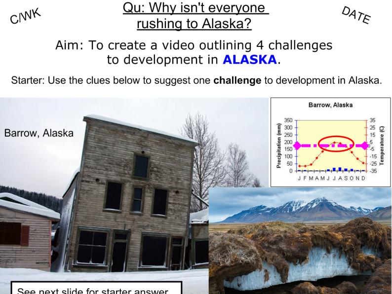 Development Challenges in Alaska