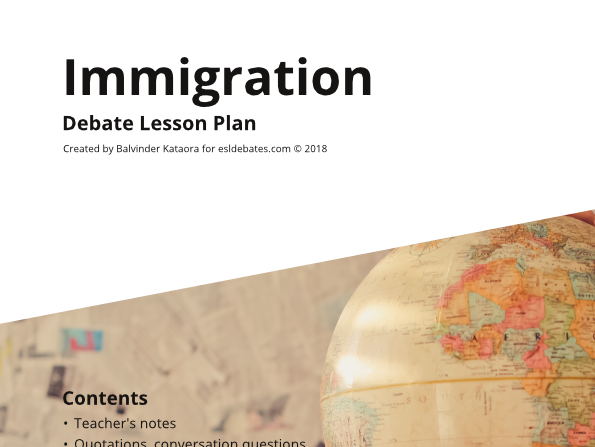 Immigration - Complete Debate Pack