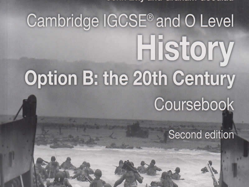 Cambridge IGCSE: History Option B: The 20th Century. League of Nations and Collapse of International Peace.