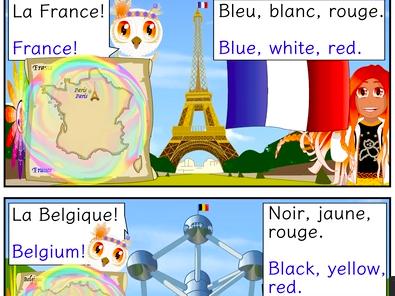 Histoire Bilingue- Bilingual Story (A1)