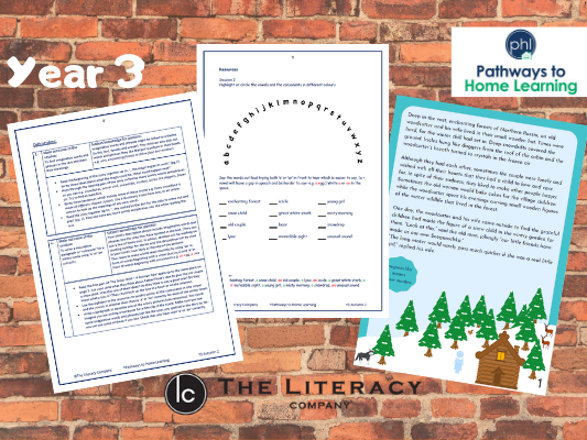 English Home Learning - Year 3