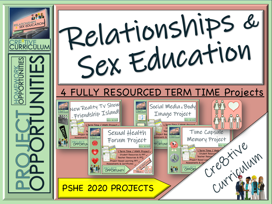 Relationships and Sex Education Projects