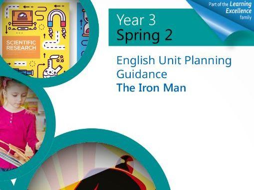 Year 3 Spring 2 English Planning Unit : The Iron Man