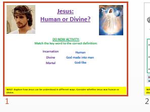 Jesus: Human or Divine?