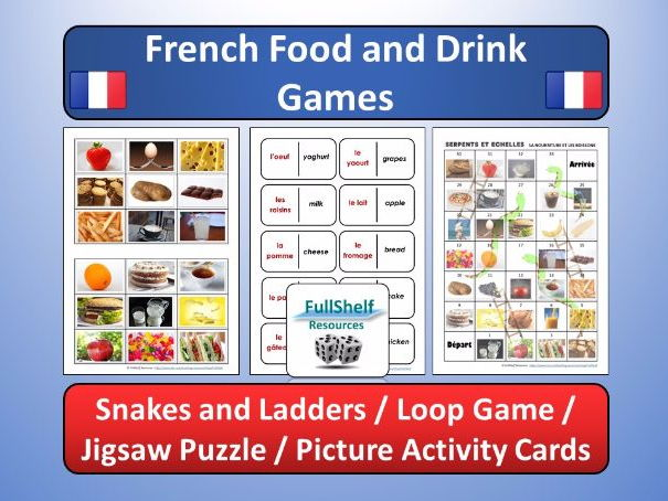 French Food and Drink Games