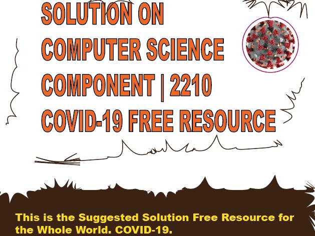 PRERELEASE CS2201/12 MJ-2020. SOLUTION