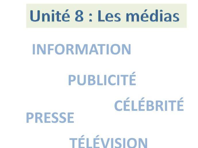 A- Level French:  Les médias