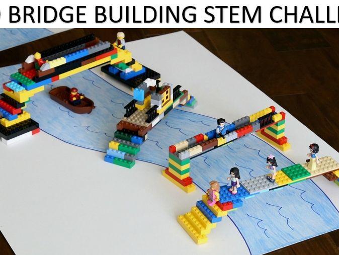 LEGO STEM Bridge Building Challenge