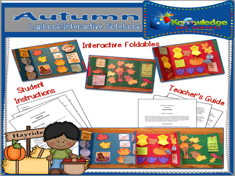 All About Autumn Lapbook