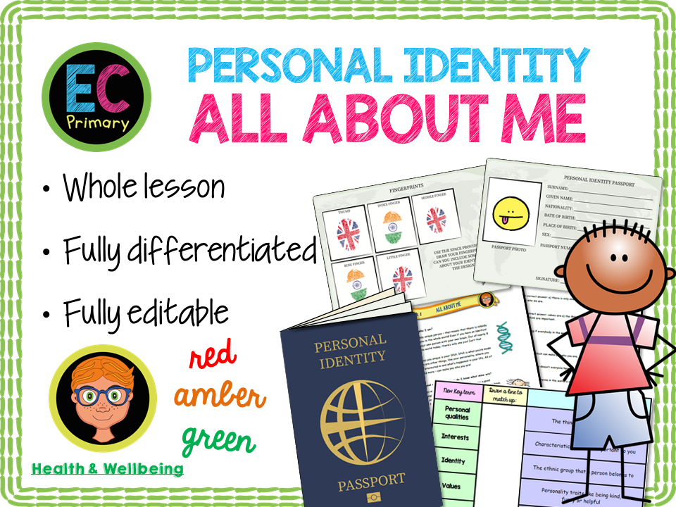 Identity - All About Me