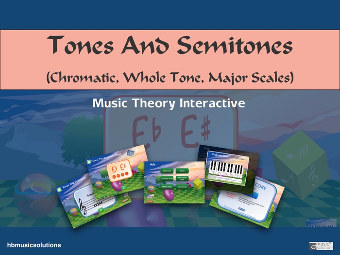 Tones And Semitones Interactive Music Theory Activities