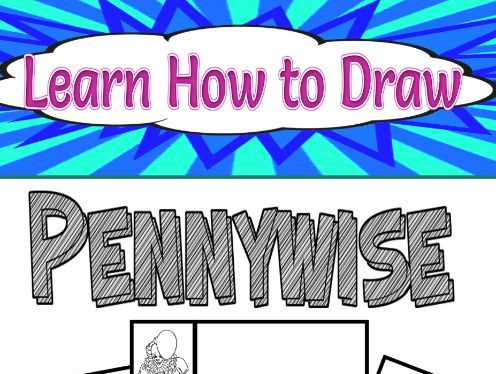 Learn How to Draw Pennywise