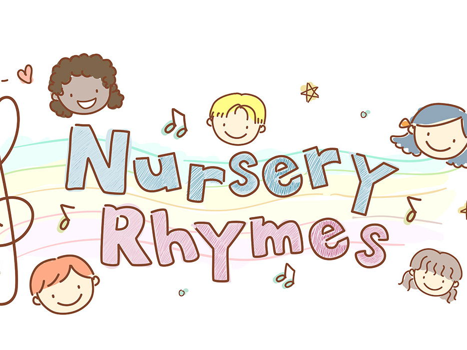 Nursery rhyme little booklets
