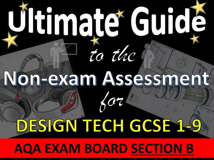 Ultimate Guide to AQA DT GCSE NEA Design Brief Spec Section B Teacher's guide