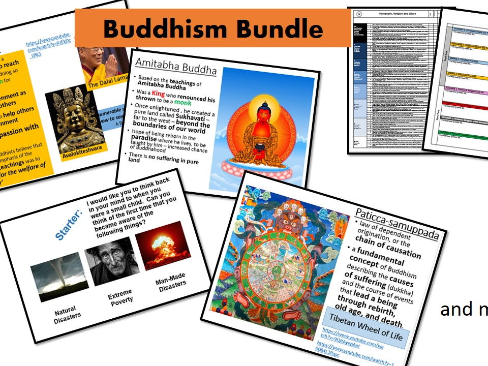 AQA RS A: Buddhist Practices Bundle