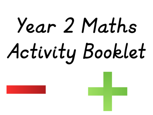 Year 2 Maths Working Towards Activity Booklet